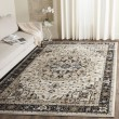 Product Image of Cream, Navy (K) Traditional / Oriental Area Rug
