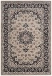 Product Image of Cream, Anthracite (K) Traditional / Oriental Area Rug