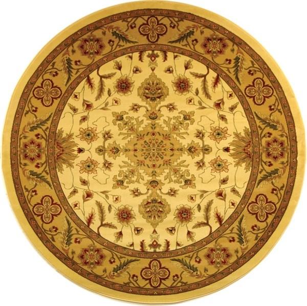 Cream, Tan (A) Traditional / Oriental Area Rug
