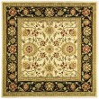 Product Image of Ivory, Black (B) Traditional / Oriental Area Rug