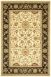Product Image of Traditional / Oriental Ivory, Black (B) Area Rug