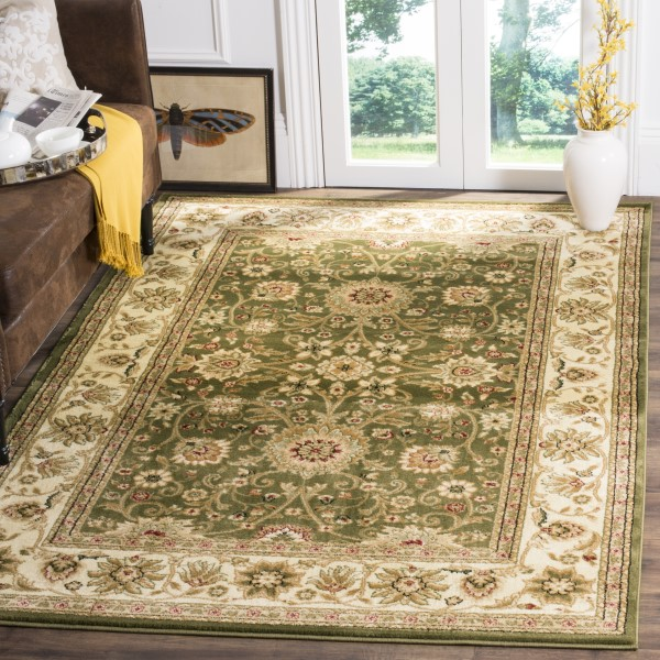 Sage, Ivory (C) Traditional / Oriental Area Rug