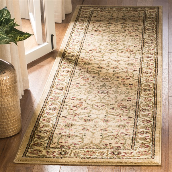 Beige, Ivory (D) Traditional / Oriental Area Rug
