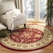 Product Image of Red, Ivory (F) Traditional / Oriental Area Rug