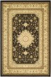 Product Image of Traditional / Oriental Black, Creme (A) Area Rug