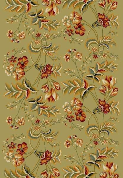 Sage (B) Floral / Botanical Area Rug