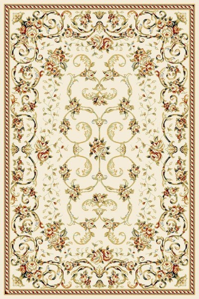 Ivory (A) Traditional / Oriental Area Rug