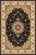 Product Image of Traditional / Oriental Black, Ivory (A) Area Rug