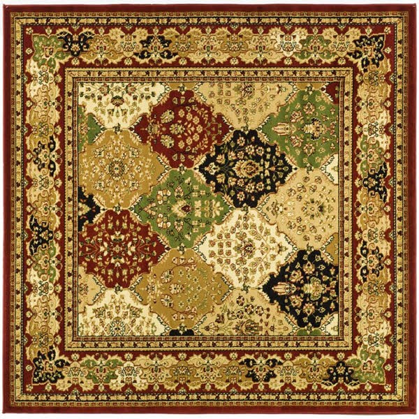 Red (B) Traditional / Oriental Area Rug