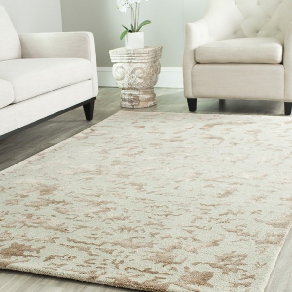 Ivory (A) Transitional Area Rug