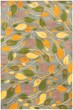 Product Image of Floral / Botanical Grey, Yellow (A) Area Rug