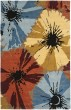 Product Image of Red, Blue, Yellow (D) Floral / Botanical Area Rug