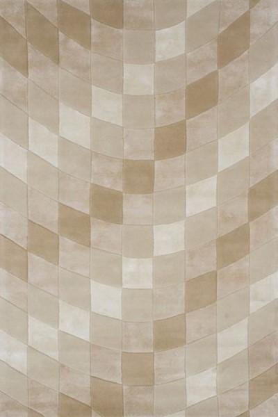 Sand, Ivory (A) Geometric Area Rug