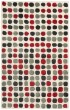 Product Image of Black, White (A) Contemporary / Modern Area Rug