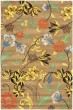 Product Image of Floral / Botanical Brown, Yellow (A) Area Rug