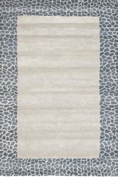 Silver, Grey (B) Contemporary / Modern Area Rug