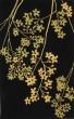 Product Image of Floral / Botanical Black, Lime (B) Area Rug