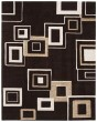 Product Image of Brown, Beige (B) Contemporary / Modern Area Rug