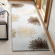 Product Image of Light Blue, Ivory (C) Contemporary / Modern Area Rug