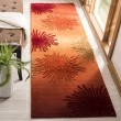 Product Image of Rust, Orange (R) Contemporary / Modern Area Rug