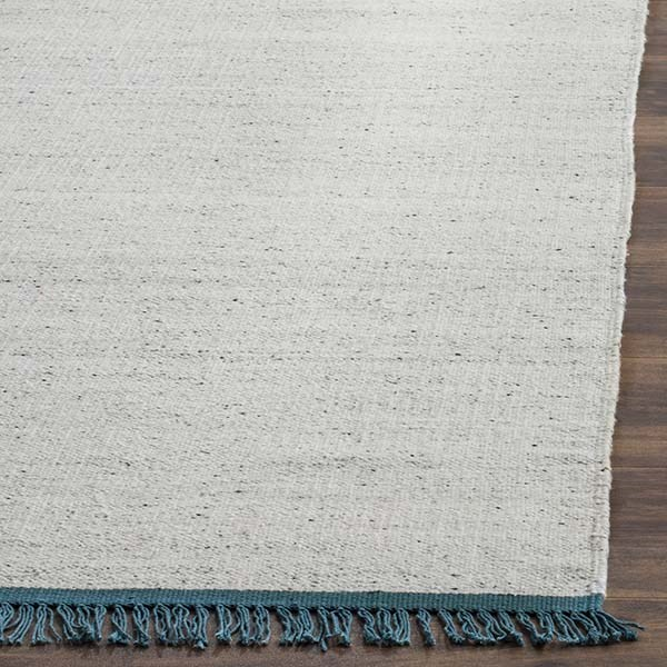 Ivory, Grey (A) Casual Area Rug