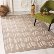 Product Image of Beige (A) Chevron Area Rug