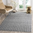 Product Image of Ivory, Charcoal (C) Moroccan Area Rug