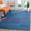 Product Image of Blue (A) Contemporary / Modern Area Rug