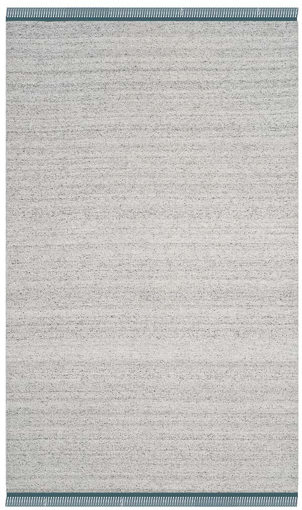 Grey, Ivory (A) Casual Area Rug