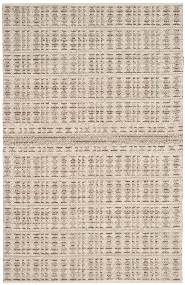 Ivory, Light Grey (A) Moroccan Area Rug