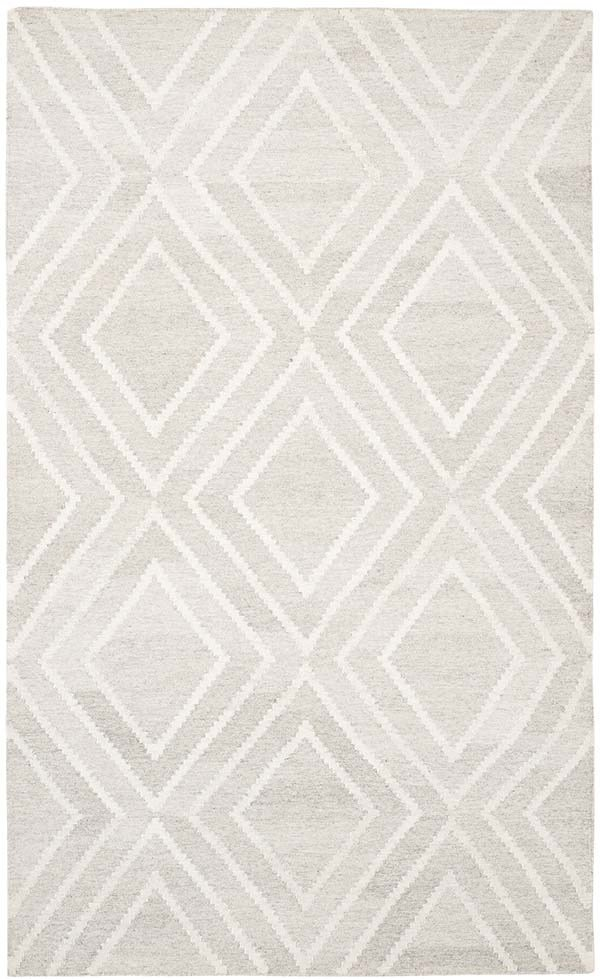 Ivory (B) Contemporary / Modern Area Rug