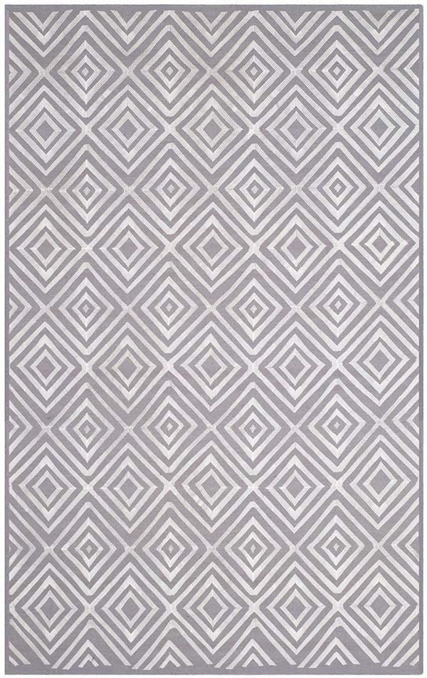 Grey (A) Contemporary / Modern Area Rug