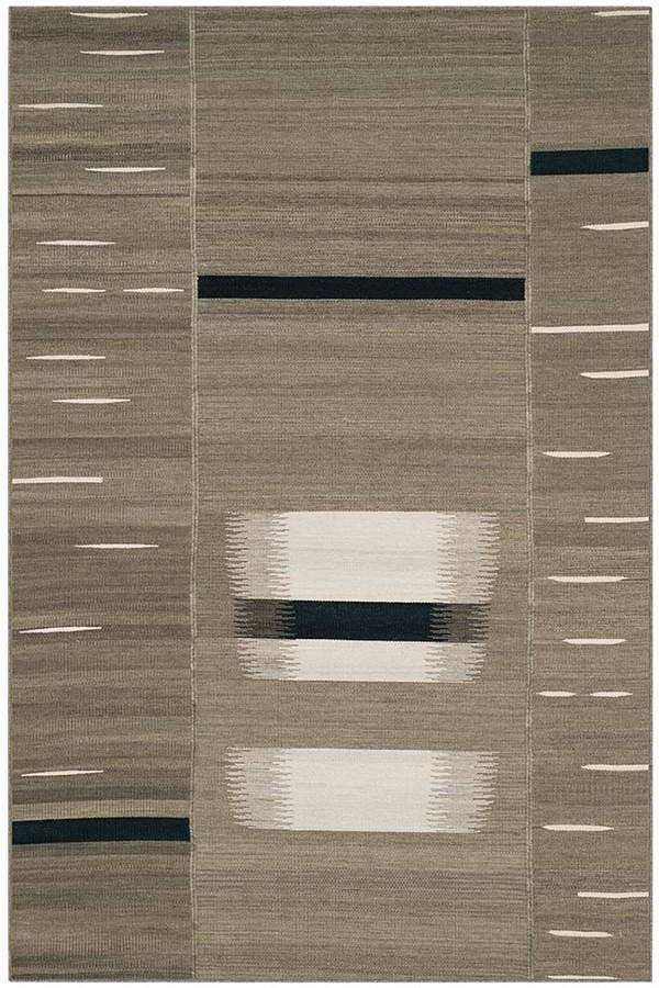 Beige (A) Contemporary / Modern Area Rug
