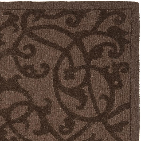 Brown (A) Transitional Area Rug