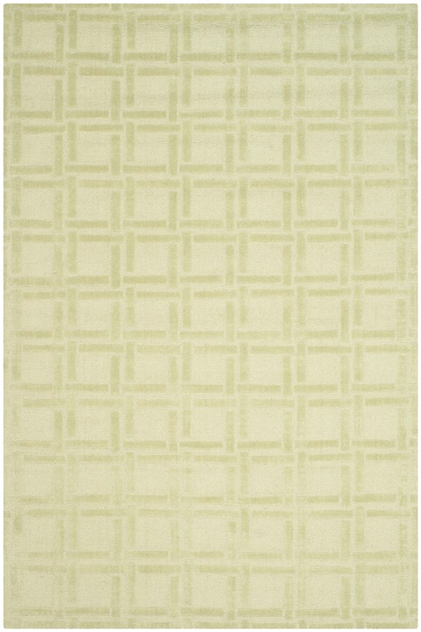 Lime (A) Transitional Area Rug