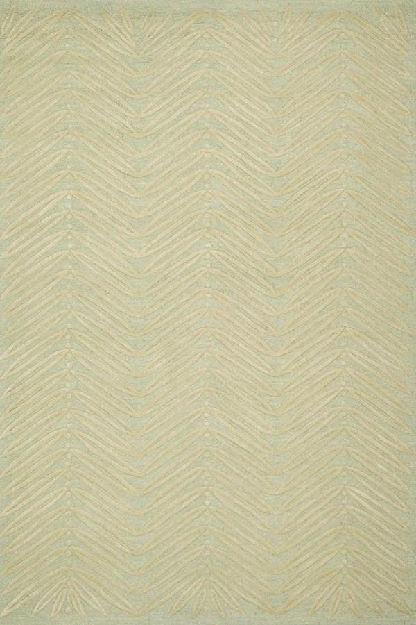 Milk Pail Green (MSR-3612D) Floral / Botanical Area Rug