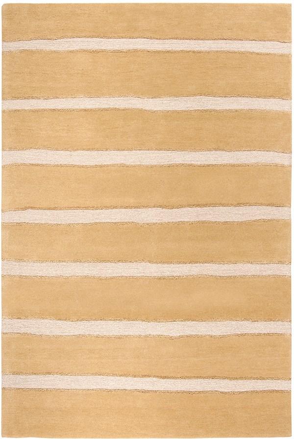 Toffee, Gold (MSR-3617B) Striped Area Rug