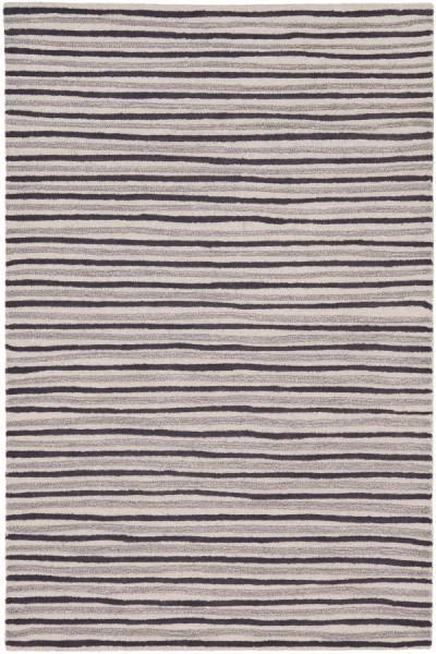 Wampum Purple (MSR-3619C) Striped Area Rug