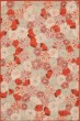 Product Image of Floral / Botanical Cayenne Red (MSR-3625B) Area Rug