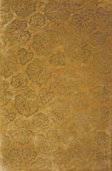 Toffee (MSR-3260D) Floral / Botanical Area Rug