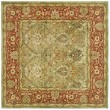 Product Image of Light Green, Rust (B) Traditional / Oriental Area Rug