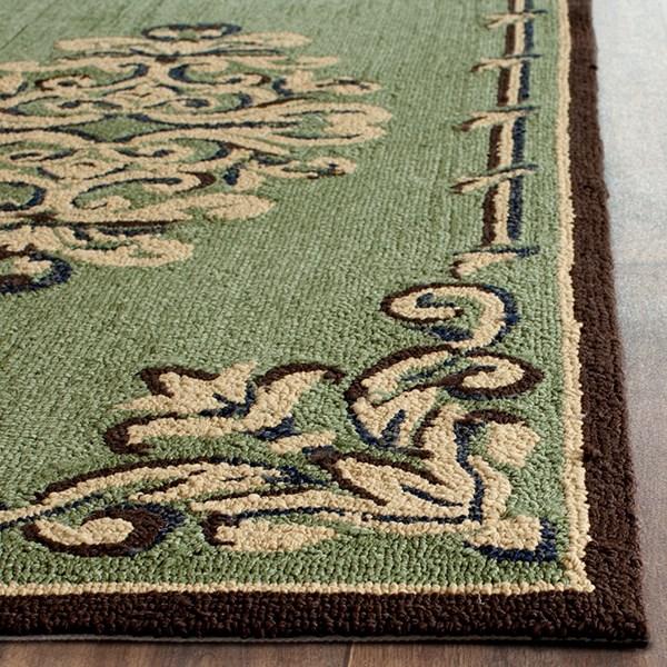Sage (C) Traditional / Oriental Area Rug
