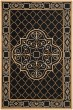 Product Image of Traditional / Oriental Black, Gold (D) Area Rug