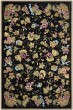 Product Image of Floral / Botanical Black (A) Area Rug