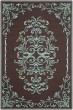 Product Image of Traditional / Oriental Chocolate (D) Area Rug