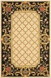 Product Image of Traditional / Oriental Ivory, Black (A) Area Rug