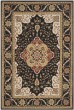 Product Image of Traditional / Oriental Black, Cream (E) Area Rug