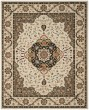 Product Image of Traditional / Oriental Cream, Olive (G) Area Rug