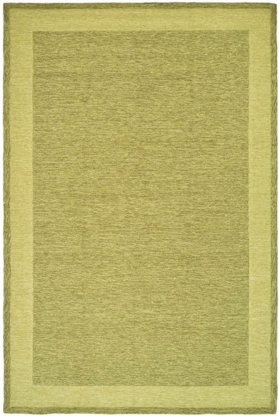 Green (C) Casual Area Rug