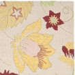 Product Image of Ivory, Yellow (A) Floral / Botanical Area Rug